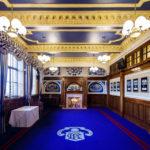 Prunkvolle Räume im Ibrox Stadium (Glasgow Rangers)