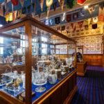 Trophäenraum im Ibrox Stadium (Glasgow Rangers)