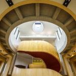 Modernes Stiegenhaus im Glasgow Theatre Royal
