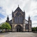 Außenansicht der St. Mungo's Cathedral von Glasgow