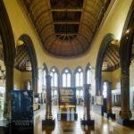 Blick in das Hunterian Museum in der Universität von Glasgow