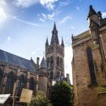 Innenhof der Universität von Glasgow