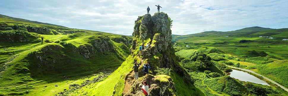 Fairy Glen auf der Isle of Skye