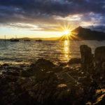 Die Sonne am Strand von Elgol habe ich gerade noch erwischt, bevor sie verschwand