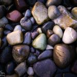 Sehenswerte Steine auf dem Strand von Elgol