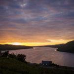 Loch Harport im Sonnenuntergang