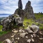 Die bizarre Felsspitze des Old Man of Storr