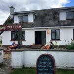 Orasay Tearoom im Hafen von Uig