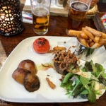 Steak im Restaurant Antlers Bar & Grill im The Portree Hotel