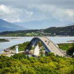 Blick auf die Skye Bridge