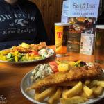 Fish&Chips im Stein Inn auf der Halbinsel Waternish