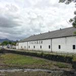 Außenansicht der Talisker Distillery