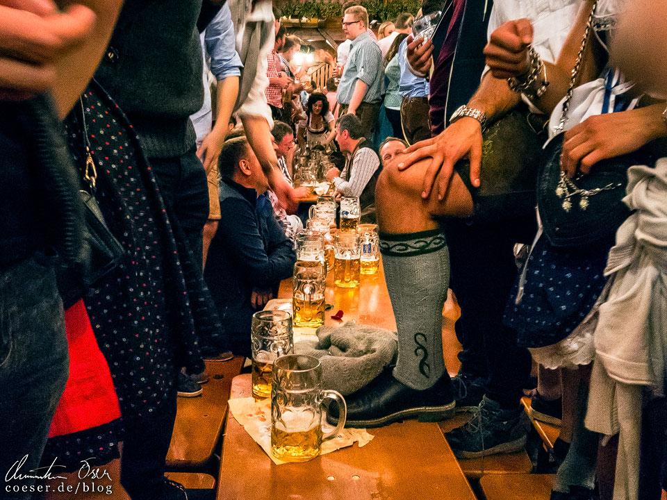 Augustiner-Festhalle während des Münchner Oktoberfest