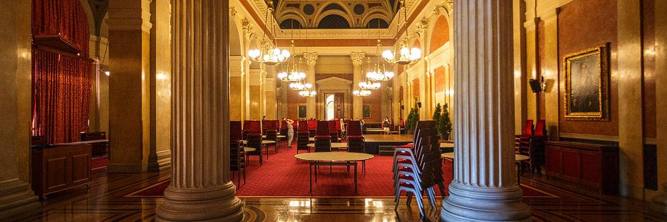Festsaal im Wiener Börsegebäude