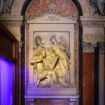 Gedenktafel für den Architekten Theophil von Hansen im Börsegebäude in Wien