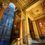 Innenansicht des Börsegebäudes in Wien