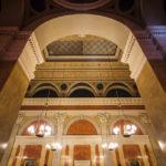 Detailansicht des Festsaals im Börsegebäude in Wien