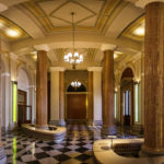 Empfangsfoyer im Börsegebäude in Wien