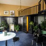Raucherzimmer mit Innenarchitektur durch Adolf Loos im Bridge Club Wien