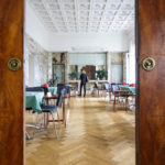 Innenarchitektur durch Adolf Loos im Bridge Club Wien