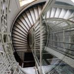 Treppe im Haus in der Reischachstraße, in dem der Bridge Club Wien seinen Sitz hat