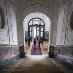 Eingangsbereich des Hauses in der Reischachstraße, in dem der Bridge Club Wien seinen Sitz hat