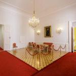 Innenansicht der ehemaligen Böhmischen Hofkanzlei in Wien
