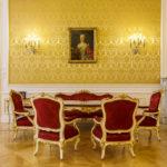 Gelber Salon in der ehemaligen Böhmischen Hofkanzlei in Wien