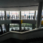 Warteschlange vor der ÖAMTC-Zentrale in Wien