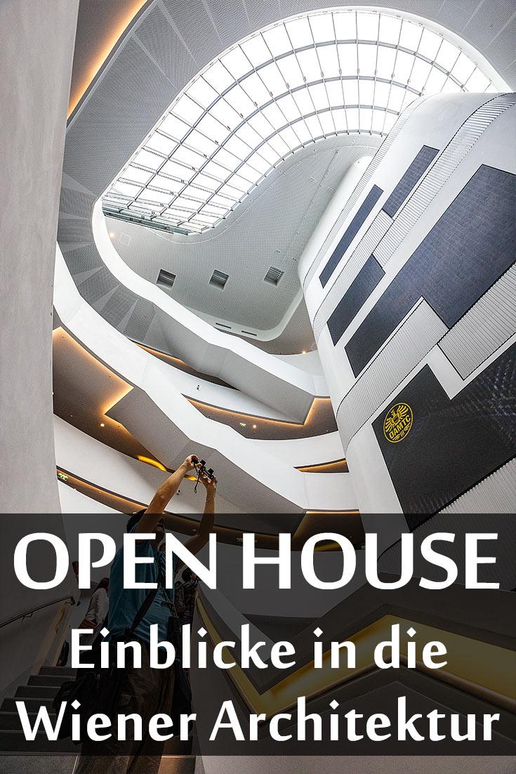 Erfahrungsbericht über Open House Wien mit dem Börsegebäude, ehem. Böhmische Hofkanzlei, Bridge Club, Gasometer, ÖAMTC Zentrale und Österr. Postsparkasse
