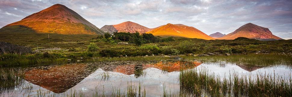 Sonnenuntergang auf der Isle of Skye
