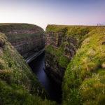 Gigantische Felsküste am Duncansby Head
