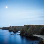 Die Duncansby Stacks im Mondlicht