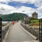 Das Eilean Donan Castle und seine Steinbrücke