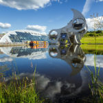 Das Falkirk Wheel in Aktion