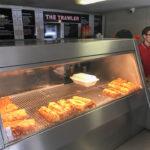 Innenansicht im Fish&Chips-Restaurant The Trawler in Golspie