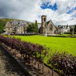Parade Gardens und die Duncansburgh MacIntosh Church in Fort William