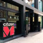 Außenansicht des citizenM Glasgow Hotel