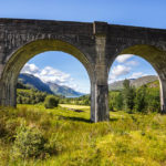 Die Bögen des Glenfinnan-Viadukt