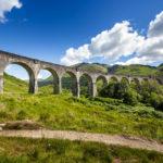 Das Glenfinnan-Viadukt in Schottland