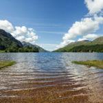 Am Ufer von Loch Shiel in Schottland