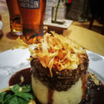"""Haggis im Restaurant """"Encore une fois"""" in Inverness"""