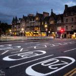 Häuserzeile in Inverness