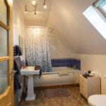 Bad im Zimmer 2 im Grasmhor Bed and Breakfast auf der Isle of Skye