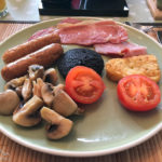 Scottish Breakfast im Grasmhor Bed and Breakfast auf der Isle of Skye