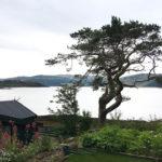 Aussicht auf Loch Alsh vom Balmacara Mains Guest House in Kyle of Lochalsh
