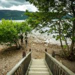 Abgang zum Ufer von Loch Ness