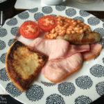 English Breakfast im Ardbeg Guest House in Rhiconich