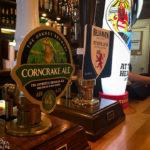 Lokale Bierauswahl im The Clachan Pub in Dornie
