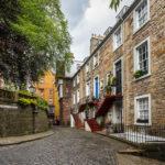 Wunderschöne Gassen und Häuser in der Altstadt